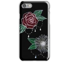 Rose and Daisy iPhone Case/Skin