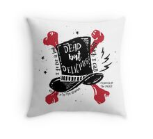 Dead But Delicious, What We Do in the Shadows Throw Pillow