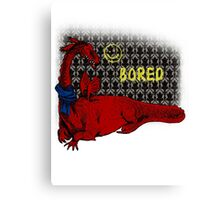 Reluctand Smaug Canvas Print