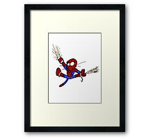 Spider-chat Framed Print