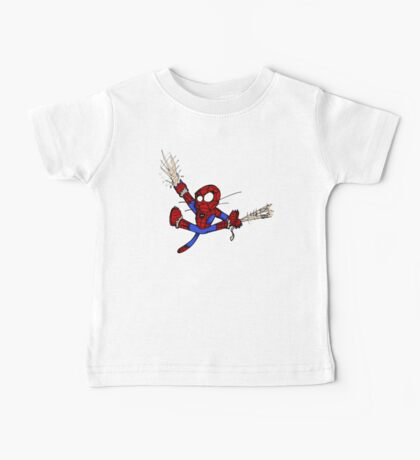 Spider-chat Baby Tee