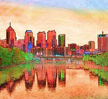 City of Brotherly Love by Michael  Porchik