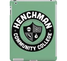 Henchman Community College iPad Case/Skin