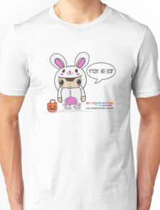 CHIBI BUNNY KAWAII HALLOWEEN EDITION - TREAT YO SELF Unisex T-Shirt