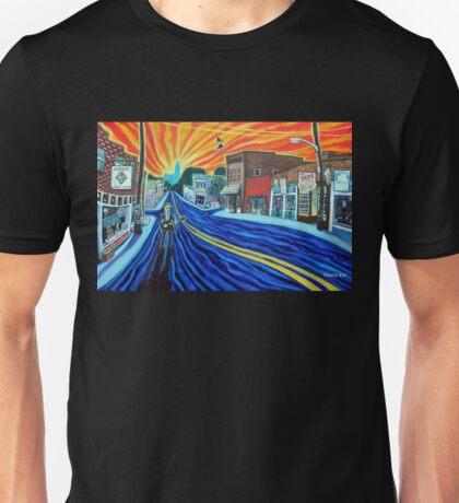 'SUNRISE SONG FOR NoDa IN THE 90s' Unisex T-Shirt