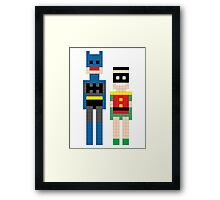 The Dynamic Duo Squared Mi Framed Print