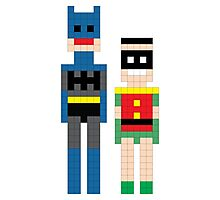 The Dynamic Duo Squared Mi Photographic Print