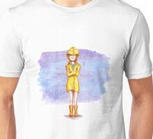 Girl in rain Unisex T-Shirt