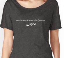 Have Yourself a Merry Little Christmas Women's Relaxed Fit T-Shirt
