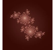 Fractal Coral - Red / Maroon Photographic Print