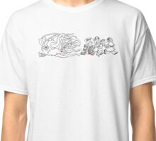 Gahan Wilson Art 2: THEM - Investigators Flee the Mythos Classic T-Shirt