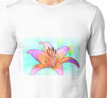 Lines of a Lily Unisex T-Shirt