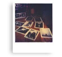 Polaroid Land Camera Canvas Print