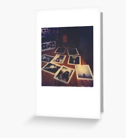Polaroid Land Camera Greeting Card