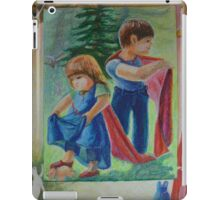 Anna And Paul - Superman And The Mad Mermaid Queen iPad Case/Skin