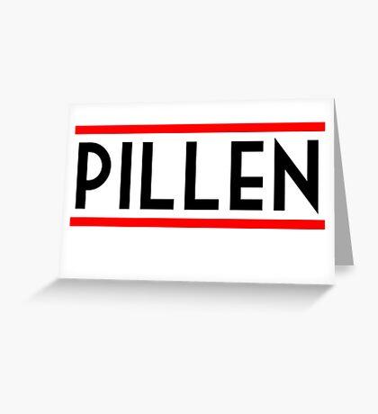 PIllen Greeting Card