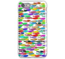 Small fish in the air iPhone Case/Skin