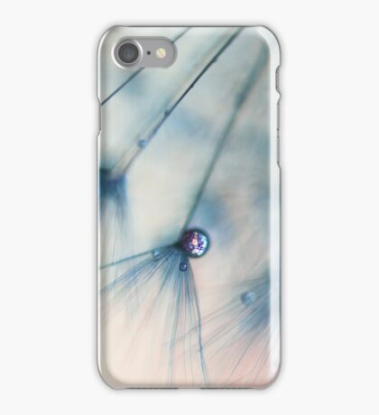 droplets of rose pink iPhone Case/Skin