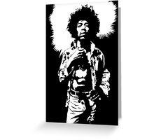 Hendrix III Greeting Card