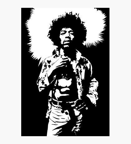 Hendrix III Photographic Print