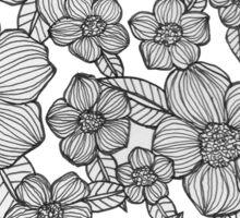 floral garden Sticker