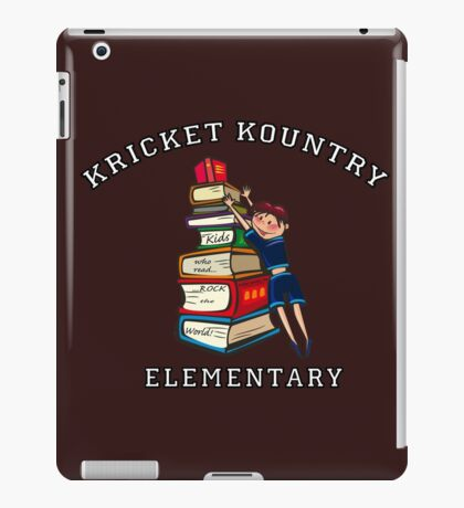 KRICKET KOUNTRY ELEMENTARY: Readers Rock the World! iPad Case/Skin