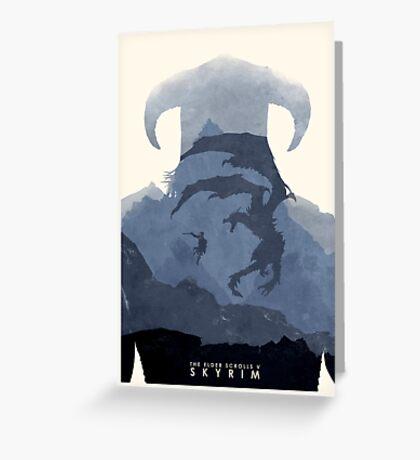 Skyrim II Greeting Card