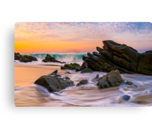 Sunrise Colors Canvas Print