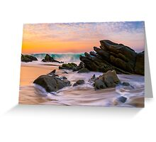 Sunrise Colors Greeting Card