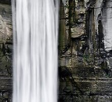Taughannock Falls Top of the Waterfall Landscape by Christina Rollo
