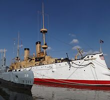 19th Century U.S. Navy Ship, Submarine, Philadelphia, Pennsylvania  by lenspiro