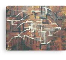 ABSTRACT COPPER(C2000) Canvas Print
