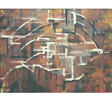 ABSTRACT COPPER(C2000) Photographic Print