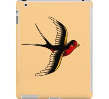 American Traditional Swallow III iPad Case/Skin
