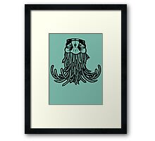 Swami hippy Framed Print