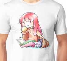 A warm tea and a warm place. Unisex T-Shirt