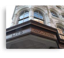 Classic Architecture, Market Street, Philadelphia, Pennsylvania Canvas Print