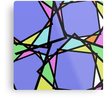 Stain Glass Abstract Metal Print