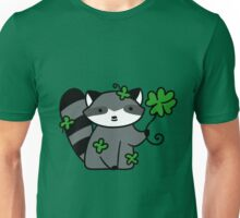 Lucky Raccoon Unisex T-Shirt