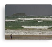 Pollan Bay, Ballyliffin Canvas Print