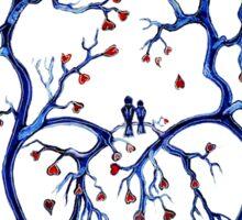 Tree of Hearts Sticker