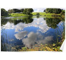 Cloud reflections Poster