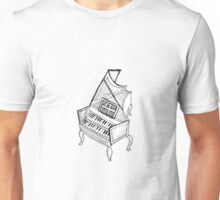 Crazy Harpsichord Unisex T-Shirt