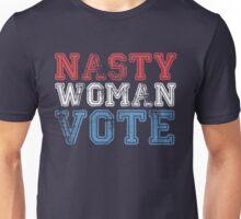 nasty woman vote Unisex T-Shirt
