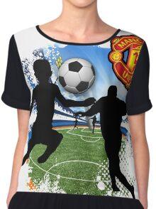 soccer Man-Uni  Chiffon Top