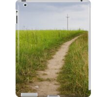 Rural Path Closeup iPad Case/Skin