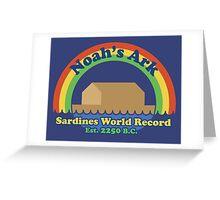 Sardines Champs Greeting Card