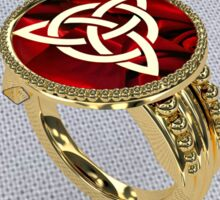 Ring Of Trinity Sticker