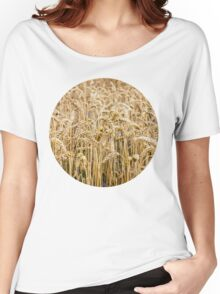 Wheat Women's Relaxed Fit T-Shirt
