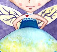 Cherry Fairy Sticker